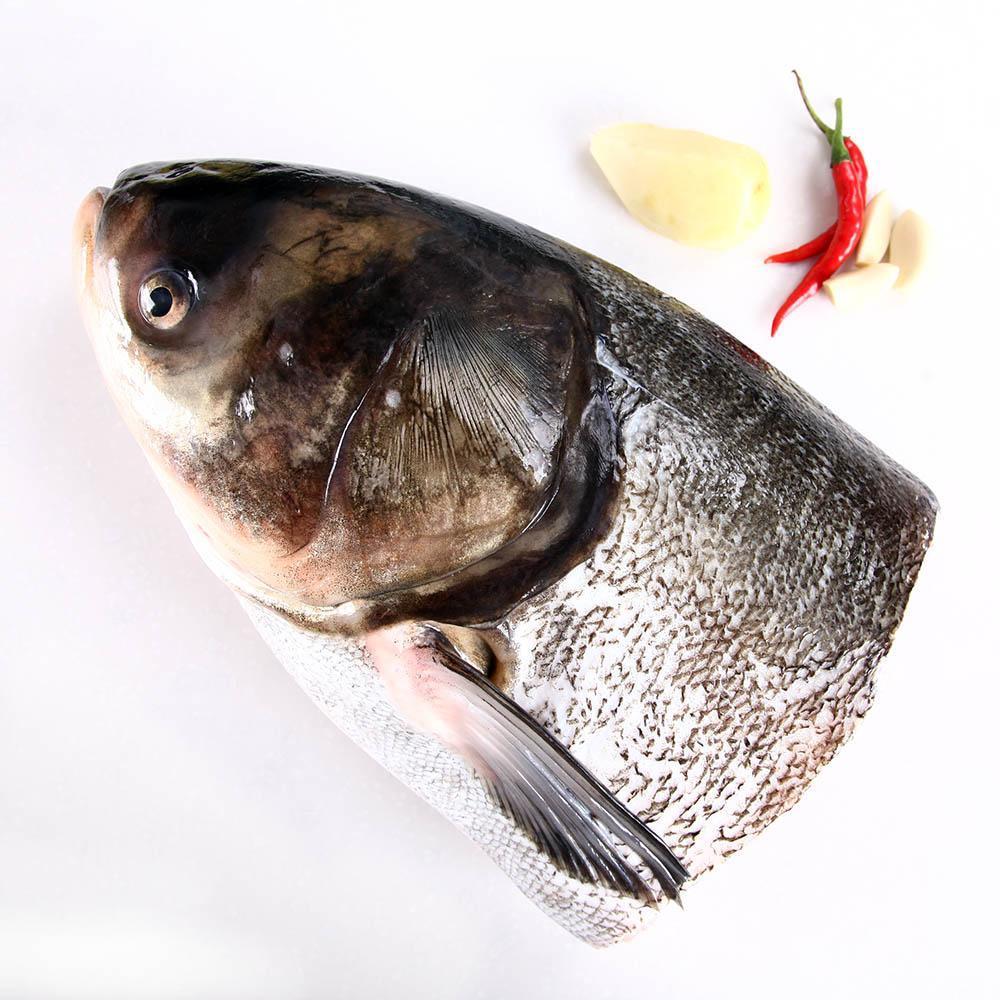 淳牌千岛湖有机鱼头(白鲢)2kg-3kg
