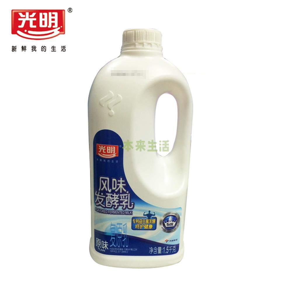 塑料桶装酸牛奶 1500g【行情