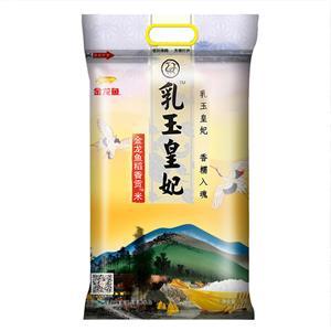 金龙鱼乳玉皇妃稻香贡米5kg 其米粒晶莹剔透,口感柔软滑润